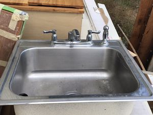 Kitchen sink with faucet for Sale in Portland, OR