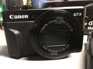 Canon G7X markII for Sale in Murray, UT