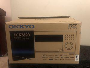 Onkyo tx rz820 for Sale in New Castle, DE