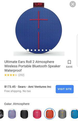 UE Roll 2 bluetooth speaker for Sale in Miami, FL