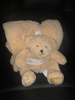 Throw and teddy bear set for Sale in Pittsburg, CA