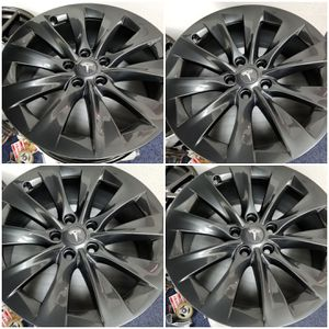 "Tesla Sonic Carbon Grey 19"" Wheels Rims OEM for Sale in Los Angeles, CA"