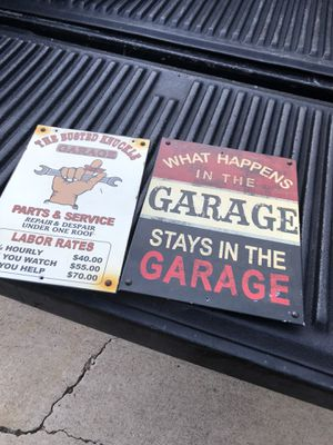 Garage items containers, signs for Sale in San Diego, CA