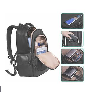 Ergonomic, waterproof, laptop backpack w usb cord for Sale in Sacramento, CA