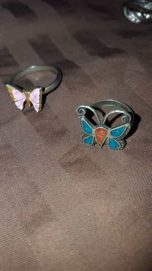 2 Butterfly Rings for Sale in Trinidad, CA