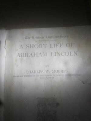 Copyright 1881 the short life of abraham lincoln for Sale in Summersville, WV
