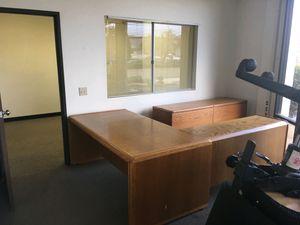 Office furniture desk / storage for Sale in San Marcos, CA