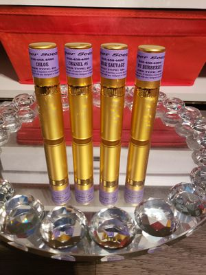 Fragrance oil sprays and custom scented body washes for Sale in Houston, TX