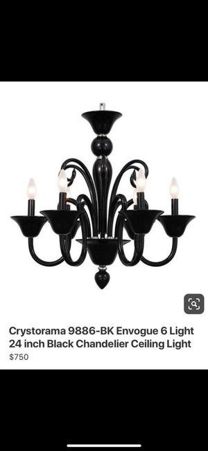 Chandelier black for Sale in Miramar, FL