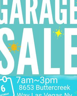 Garage Sale!!! So Much Stuff!!! Great Deals! Sat.7am-3pm! for Sale in Las Vegas,  NV