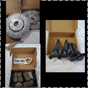 2016 Hyundai Sonata NEW parts (but compatible w/ other vehicles) NEW Rear brake pads, Rotors, Ignition Coils (plz read description carefully) for Sale in Deltona, FL