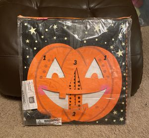 Halloween Jack o lantern beanbag toss game new in package. for Sale in Waddell, AZ