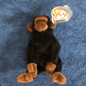 Gorilla beanie baby with tag for Sale in St. Helens, OR
