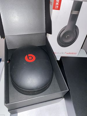 Beats Studio 3 Wireless Headphones/ Audífonos Nuevos for Sale in Dinuba, CA