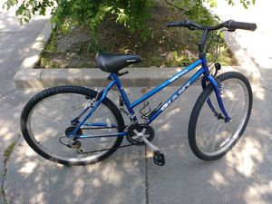 """18 speed blue Giant mountain bike--19.5"""" frame for Sale in Lincolnwood, IL"""