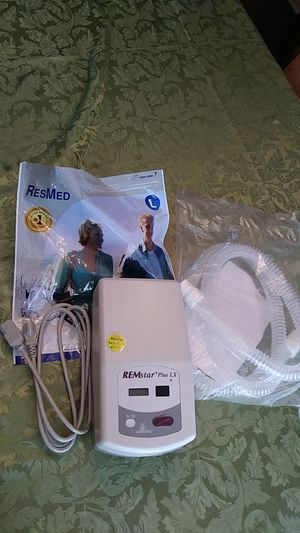 Medical Equipment....RESPIRONICS, RESMED REMSTAR, PLUSLX, CPAP MACHINE (used) for Sale in Riverside, CA