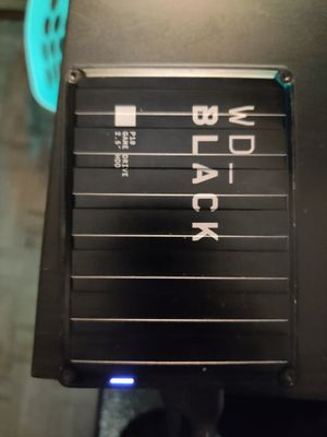 WD black 4tb external hard drive for Sale in Los Angeles, CA