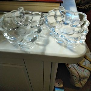 2 Lead Crystal Grape 🍇 Trays for Sale in Fort Mohave, AZ