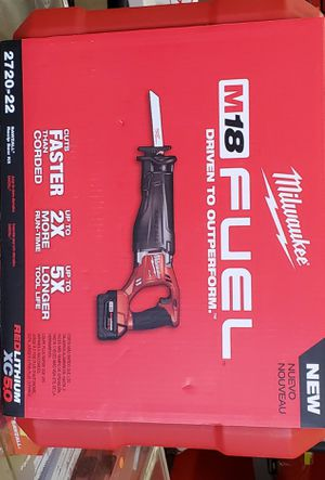 Milwaukee M18 Fuel Sawzall Kit Set for Sale in Chicago, IL