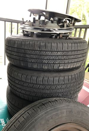 Hyundai Elantra 2016 stock rims and tires mint condition for Sale in Charleston, SC