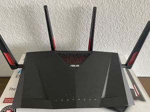 Asus AC3100 RT-AC88U extreme gaming router for Sale in Scottsdale, AZ