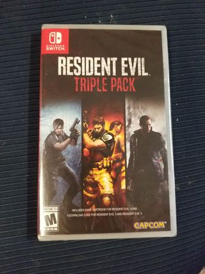Resident evil triple pack Nintendo switch for Sale in Aurora, CO