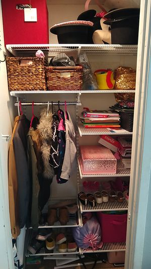 Elfa closet system from Container Store for Sale in Oceanside, CA