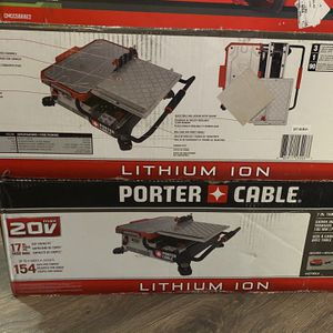 Tile Cutter Porter Cable for Sale in Modesto, CA