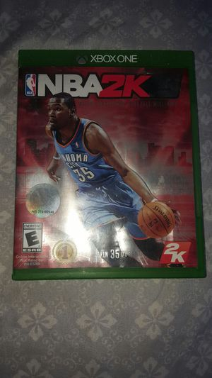 NBA 2K15 X Box One for Sale in Detroit, MI