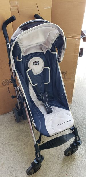 Chicco Liteway Plus 2-in-1 stroller, great condition for Sale in HUNTINGTN BCH, CA