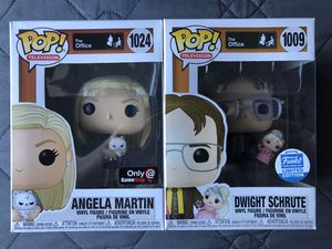 Funko Pop Dwight With Unicorn Angela Vinyl figure toy for Sale in Los Banos, CA