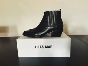 Alias Mae MAJA Black Burnished Boots - NEW for Sale in New York, NY