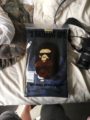 Bape big head tee navy/black 2XL for Sale in Portland, OR