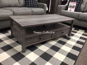Skylar Coffee Table, Distressed Gray, SKU# ID161564CTTC for Sale in Santa Fe Springs,  CA