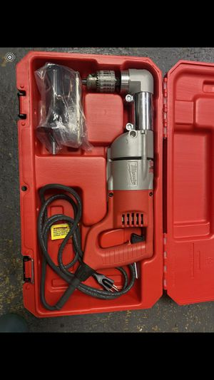 Milwaukee (Like New) Corded Right Angle Drill $180 for Sale in La Habra Heights, CA