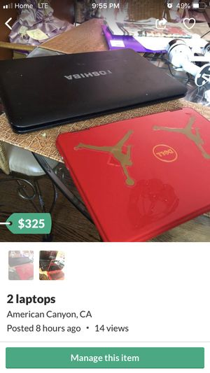 Two laptops for Sale in Vallejo, CA