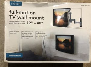 Tv wall mount for Sale in Springfield, OR