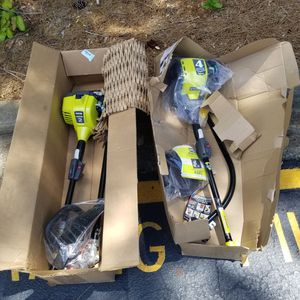 Ryobi Straight Shaft and Curved Shaft Trimmer ( $130 Each) for Sale in Cary, NC