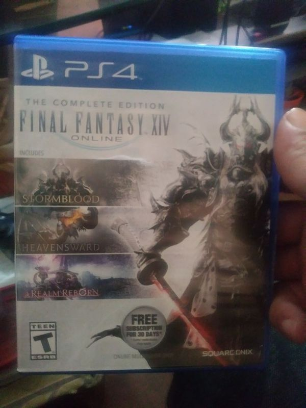 The complete edition FFXIV for Sale in Fort Worth, TX - OfferUp