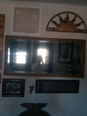Antique mirror 41 in wide 21 in long for Sale in Richmond, VA