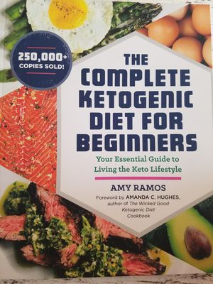 Ketogenic cook book for Sale in Santa Ana, CA
