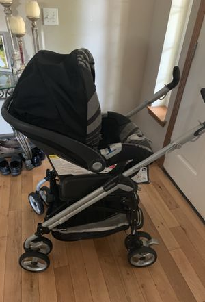 Peg Perego stroller and car seat used but in good condition for Sale in Burien, WA