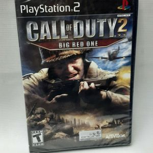 Call of Duty 2: Big Red One (Sony PlayStation 2, 2005) legacy NEW SEALED ps2 for Sale in South Gate, CA