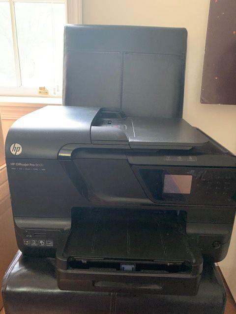 HP Office Jet Pro Printer-8600