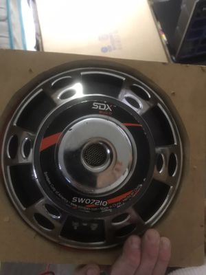 SDX audio car speaker for Sale in St Louis, MO