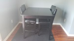 BEST OFFER -Black dining table - NEED GONE THIS WEEKEND for Sale in Gahanna, OH