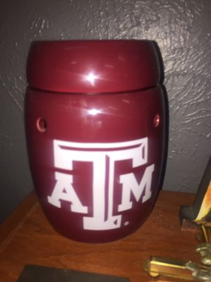 Texas A&M Aggies full size Scentsy warmer for Sale in Garland, TX