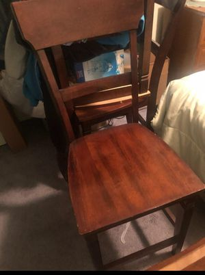 4 pub chairs for Sale in Sacramento, CA