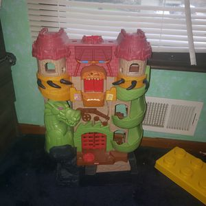 Imaginex dragon castle for Sale in Blue Springs, MO