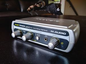 "M-AUDIO PC Audio Interface USB - Microphone XLR & 1/4"" Inst. for Sale in Riverside, CA"